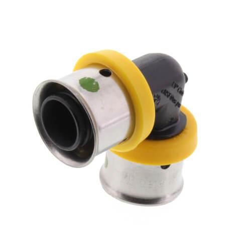 "1/2"" PEX Press PureFlow Polymer 90° Elbow (Lead Free) Product Image"