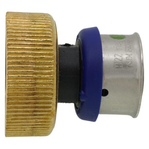 Lead Free 3//4 x 1 PEX Press Polymer Coupling {49354}10