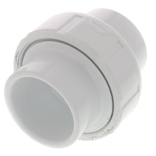 "1"" Sch. 40 PVC Socket Union w/ EPDM O-ring Product Image"