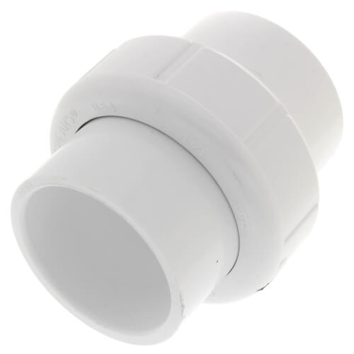 "1-1/4"" Sch. 40 PVC Socket Union w/ EPDM O-ring Product Image"