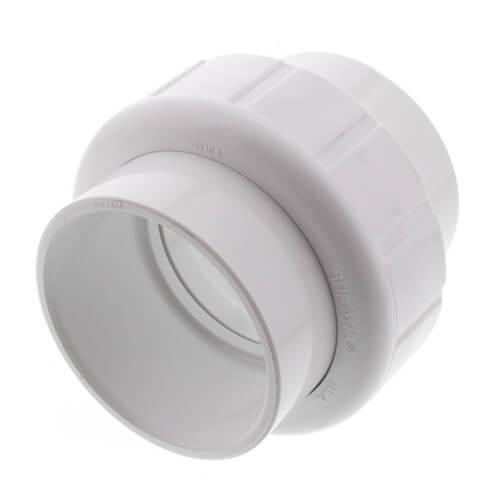 "2"" Sch. 40 PVC Socket Union w/ EPDM O-ring Product Image"