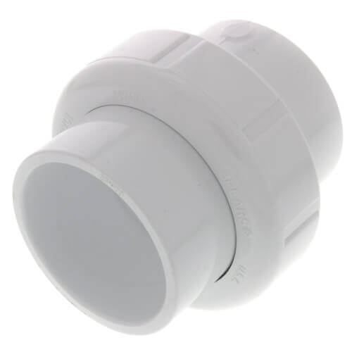 "2-1/2"" Sch. 40 PVC Socket Union w/ EPDM O-ring Product Image"