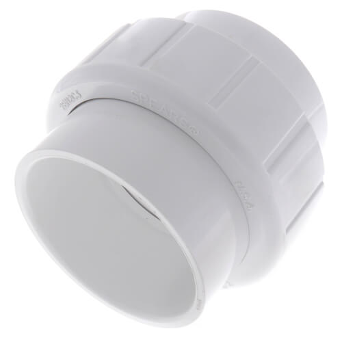 "3"" Sch. 40 PVC Socket Union w/ EPDM O-ring Product Image"
