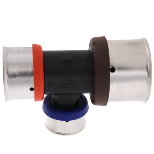 "1-1/4"" x 1"" x 3/4"" PEX Press Polymer Tee Product Image"