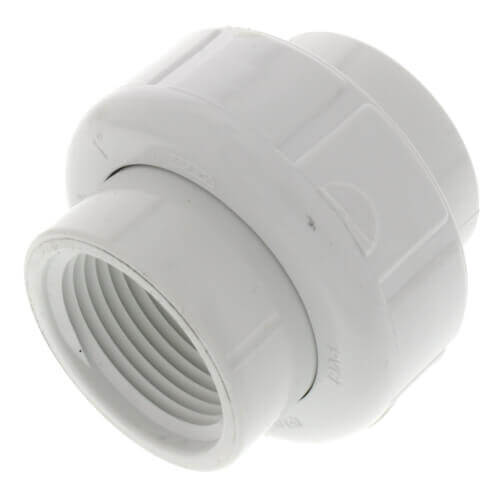 """1-1/2"""" PVC Sch. 40 Female Union w/ EPDM O-ring Product Image"""