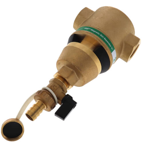 "1-1/2"" Brass 4900 Series Magnetic Dirt Separator (Threaded) Product Image"
