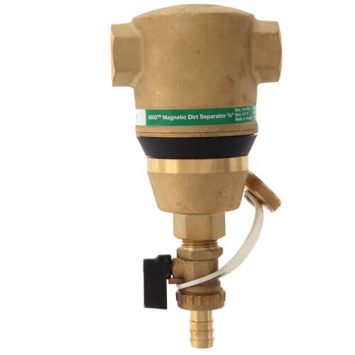 """3/4"""" Brass 4900 Series Magnetic Dirt Separator (Threaded) Product Image"""