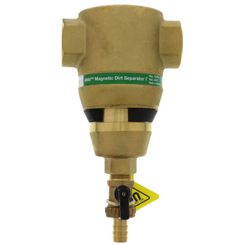 """1"""" Brass 4900 Series Magnetic Dirt Separator (Threaded) Product Image"""