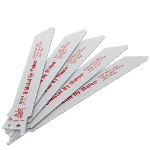 Standard Milled Reciprocating BiMetal Metal Saw Blades (5 Pack) Product Image