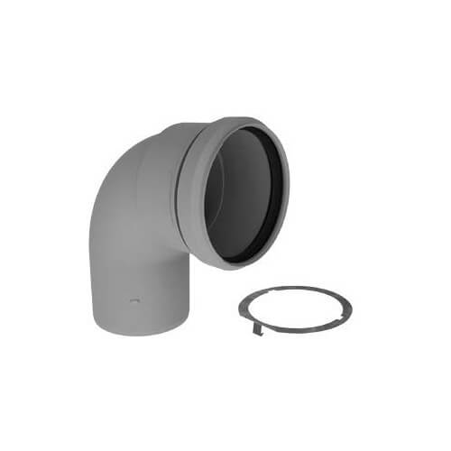 "4"" PolyPro 90° Elbow w/ LB2 Product Image"