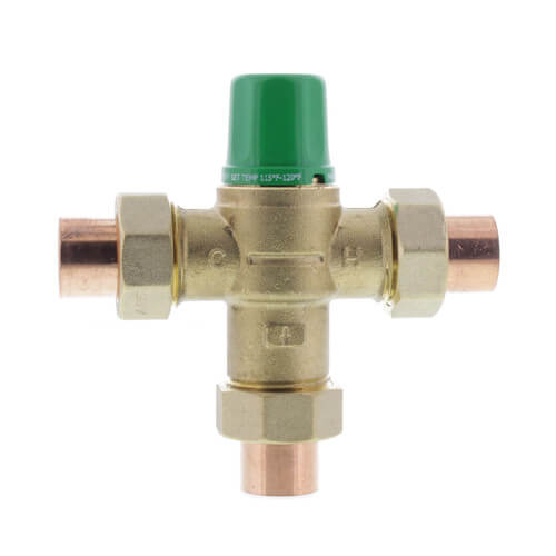 """3/4"""" Sweat 5003 Low Lead Mixing Valve Product Image"""