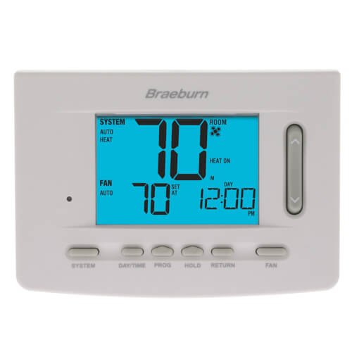 7 Day Programmable Thermostat (1 Heat/1 Cool) - Premier Series Product Image