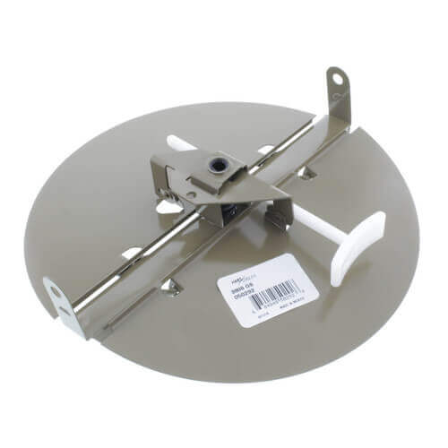 "3800 Series 12"" Steel Butterfly Damper with Ring (Golden Sand) Product Image"