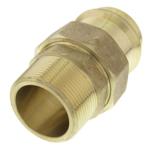 """1-1/2"""" Press x Male Copper Union Product Image"""