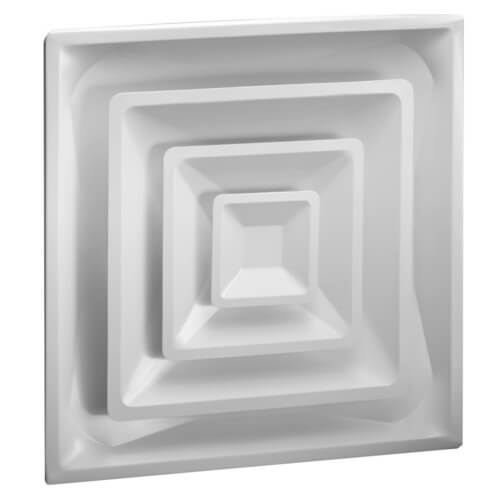 "High Volume Supply Ceiling Diffuser w/ 6"" Collar (HVS Series) Product Image"