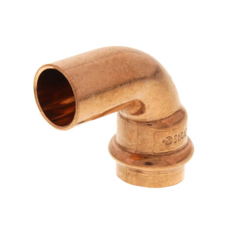 "3/4"" Press Copper 90° Street Elbow (FTG x Press) Product Image"