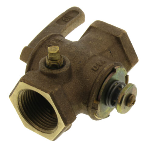 "1"" Manual Main Gas Valve, 1/8"" Tap Product Image"