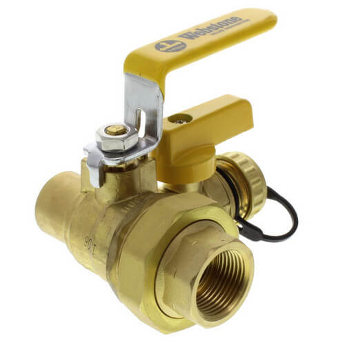 Industrial Lever Ball Valve End : W webstone quot full port forged brass