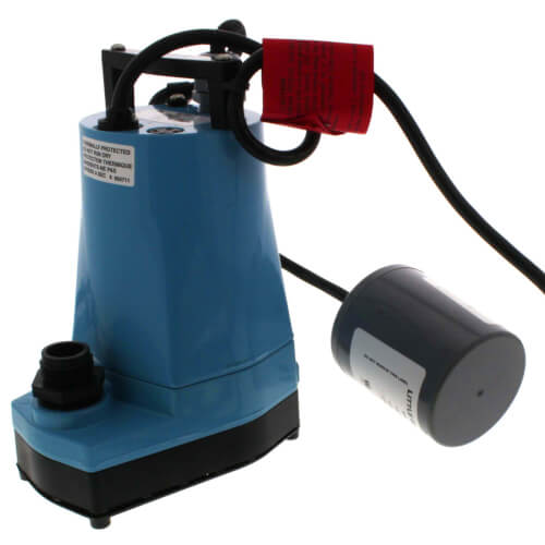 5-ASP-FS Submersible Sump/Utility Pump w/ Float Switch 115V 1/6HP 10' cord Product Image