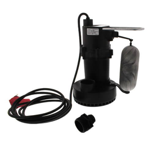 5.5-ASP 1/4 HP, 35 GPM - Submersible Sump Pump, 10ft power cord Product Image