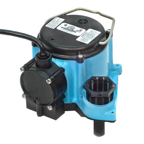 6-CIA, 1/3 HP, 45 GPM - Automatic Submersible Sump Pump, 25ft power cord Product Image