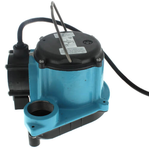 6-CIA-ML, 115v 1/3 HP, 45 GPM - Automatic Submersible Sump Pump, 8ft power cord Product Image