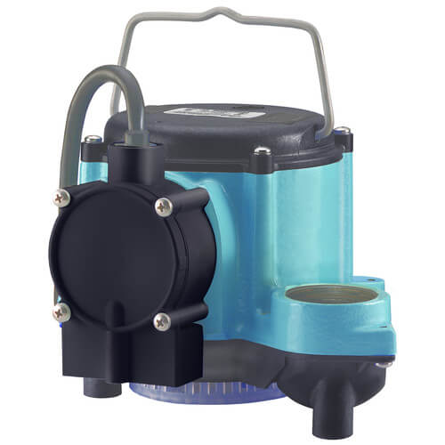 6-CIA 1/3 HP, 46 GPM - Automatic Submersible Sump Pump w/ legs, 10 ft power cord Product Image