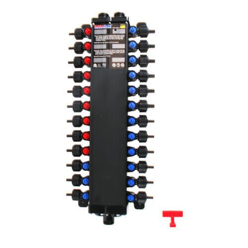 """1/2"""" / 3/8"""" 24 Port Combination Crimp MANABLOC Product Image"""