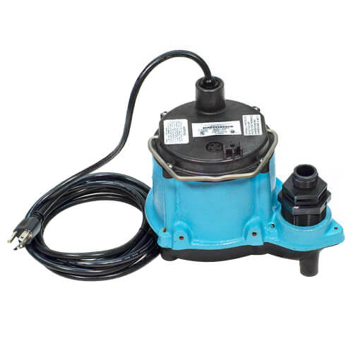 6-CIM-R 1/3 HP, 45 GPM - Manual Submersible Sump Pump, 10ft power cord Product Image