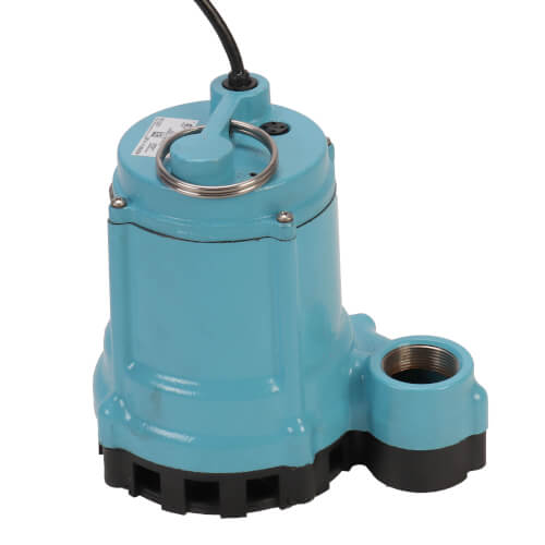 9EN-CIM 4/10 HP, 80 GPM - Manual Submersible Sump Effluent Pump, 30 ft power cord Product Image