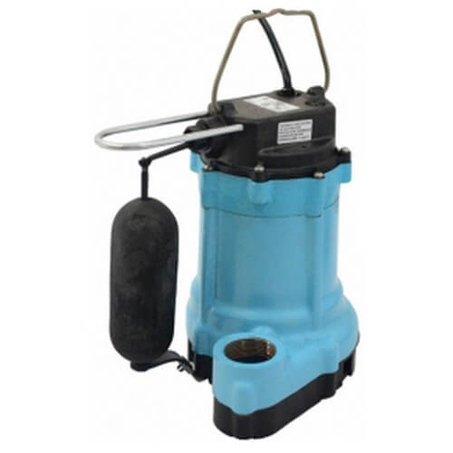 9EN-CIA-SFS 4/10 HP, 80 GPM - Automatic Submersible Sump Effluent Pump, 20' power cord Product Image