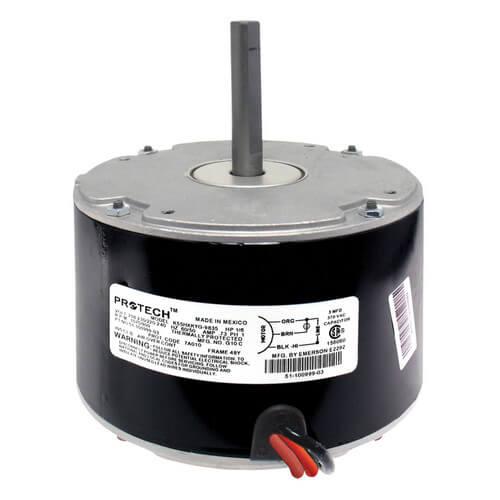 51 100999 03 rheem 51 100999 03 1 6hp 1075 rpm motor for Rheem furnace blower motor replacement