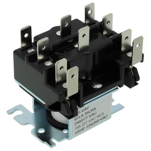 Plug In Relay w/ 24V Holding Coil Weil Mclain Pfg Relay Wiring Diagram on
