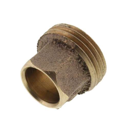 "1/2"" x 3/4"" Cast Brass Sweat x Hose Thread Adapter Product Image"
