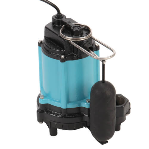 10EC-CIA-SFS 1/2 HP, 67 GPM, Polypropylene Base - Submersible Sump Pump 10 ft. Cord Product Image