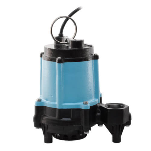 10EC-CIM 1/2 HP, 67 GPM - Submersible Sump Effluent Pump, 20 ft power cord Product Image