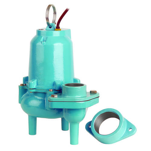 ES60M1-20 6/10 HP, 127 GPM @ 10ft - Energy Savings, Submersible, Solids Handling Manual Pump, 20ft power cord Product Image