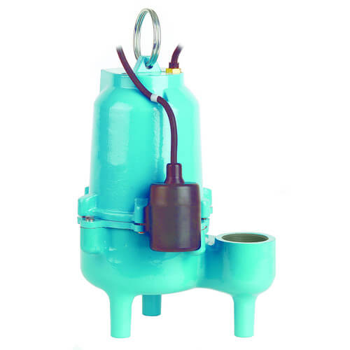 ES50W1-20 1/2 HP, 85 GPM @ 10ft - Energy Savings, Submersible, Solids Handling Pump w/ Wide Angle Float Switch, 20ft power cord Product Image