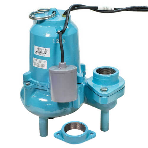 ES60W1-20 6/10 HP, 127 GPM @ 10ft - Energy Savings, Submersible, Solids Handling Pump w/ Wide Angle Float Switch, 20ft power cord Product Image