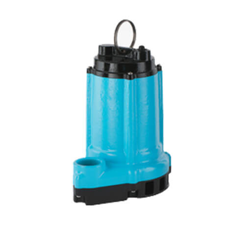 10ENH-CIM, 1/2 HP, 60 GPM - Submersible High Head Manual Effluent Pump - 20 ft Power Cord Product Image