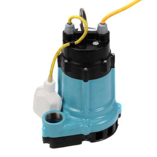 HT-10E-CIA-FS 80 GPM Submersible Sump Effluent Pump with Integral Float Switch - 15ft power cord Product Image