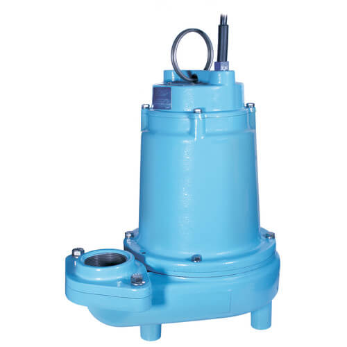 14EH-CIM 1/2 HP, 60 GPM, 208-240V - Manual Submersible High Head Effluent Pump, 20ft power cord Product Image