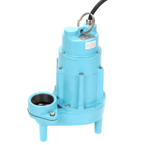 14S-CIM 1/2 HP, 100 GPM, 115V - Manual Submersible Sewage Ejector Pump, 20ft power cord Product Image