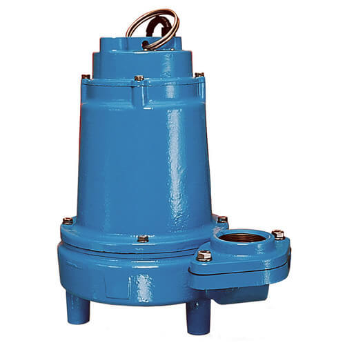 16EH-CIM 1 HP, 90 GPM, 230V - Manual Submersible High Head Effluent Pump, 20ft power cord Product Image