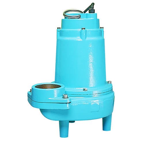 16S-CIM 1 HP, 160 GPM, 230V - Manual Submersible Sewage Ejector Pump, 40ft power cord Product Image