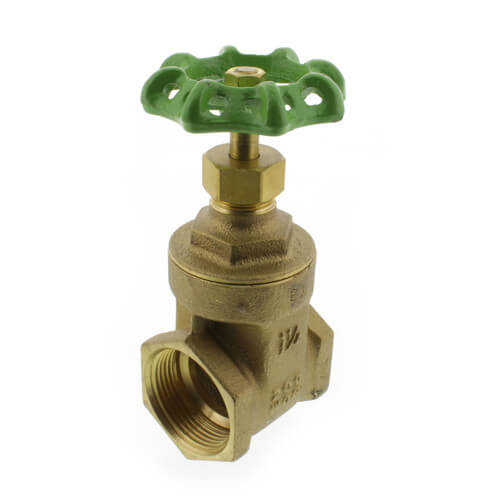 "1-1/4"" Threaded Gate Valve (Lead Free) Product Image"