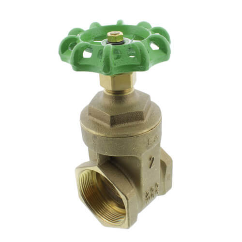 "2"" Threaded Gate Valve (Lead Free) Product Image"