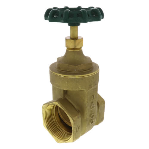 "2-1/2"" Threaded Gate Valve, Lead Free Product Image"