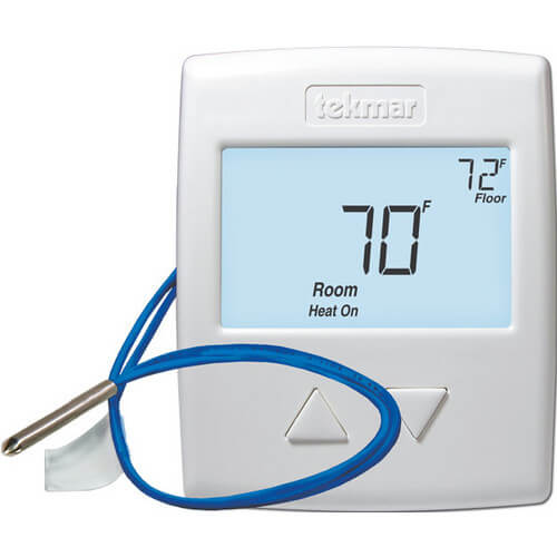 519 One Stage Heat Thermostat, Includes Slab Sensor (518 + 079) Product Image