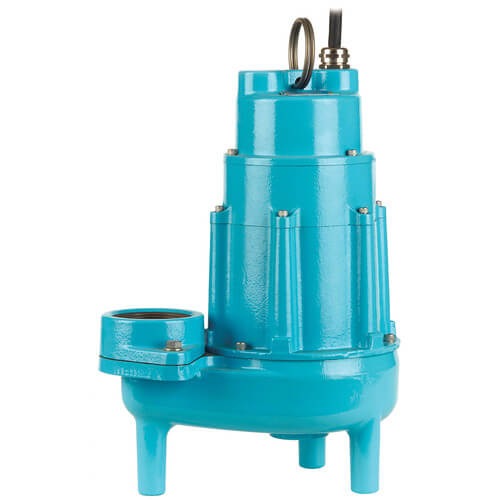 20S-CIM 2 HP, 205 GPM, 460V - Manual Submersible Sewage Pump, 3 Phase - 20ft power cord Product Image